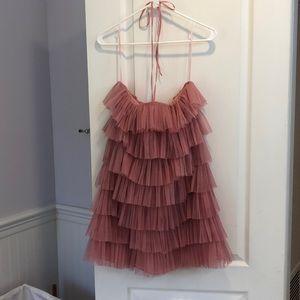 NWT Zara Ruffle Mini Dress.